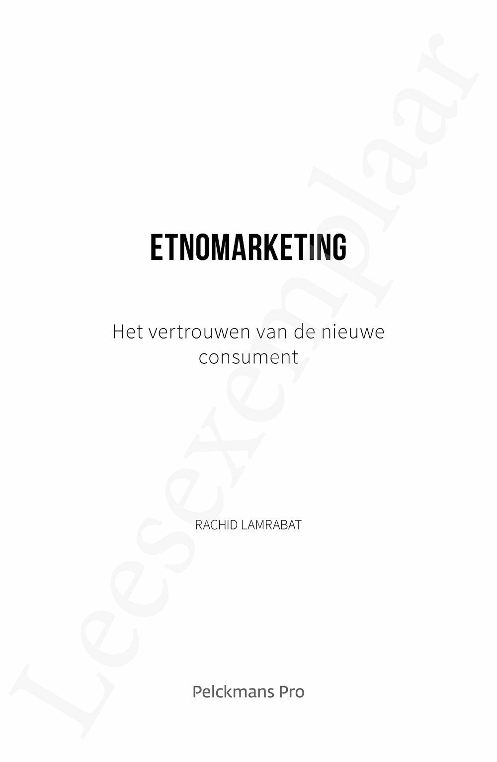 Preview: Etnomarketing