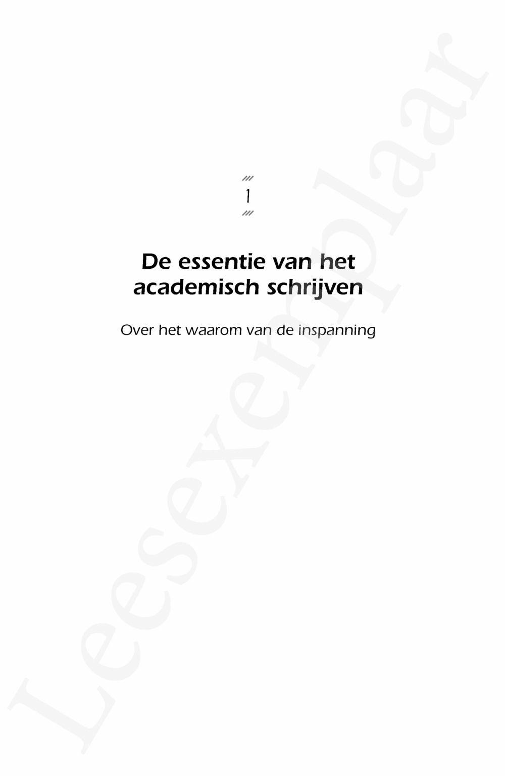 Preview: Academisch schrijven tijdens de hogere opleiding