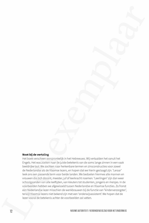 Preview: Nieuwe autoriteit/verbindend gezag voor het onderwijs