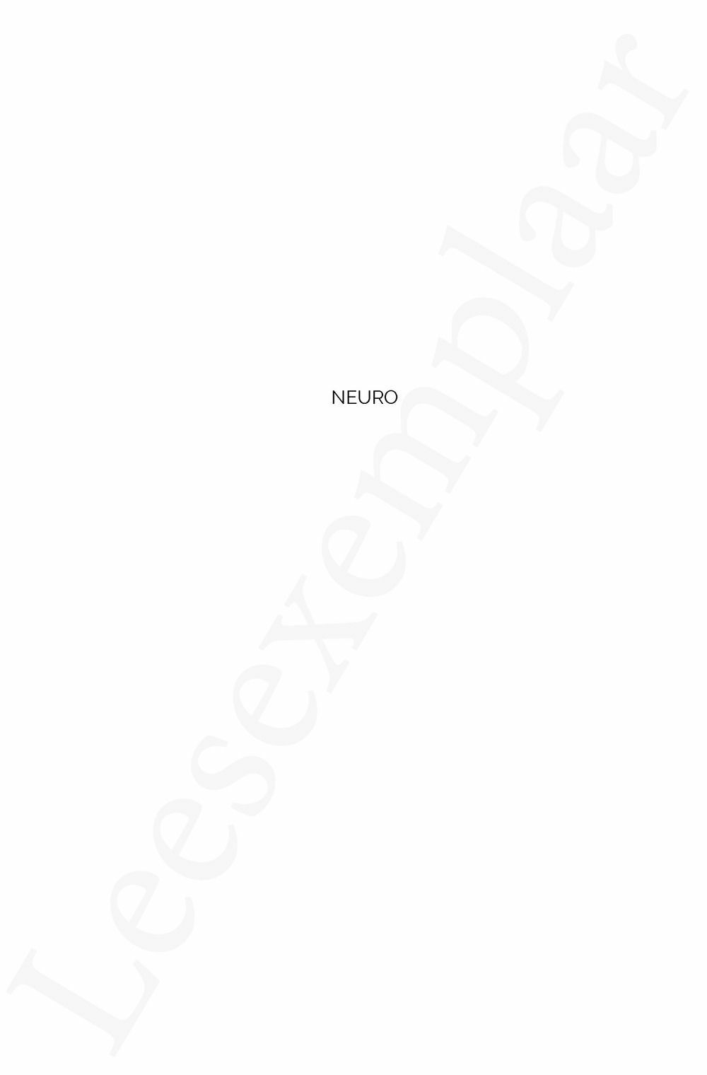 Preview: NEURO