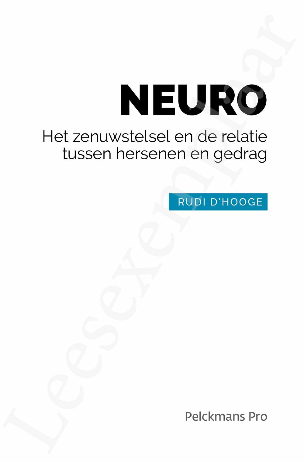 Preview: NEURO