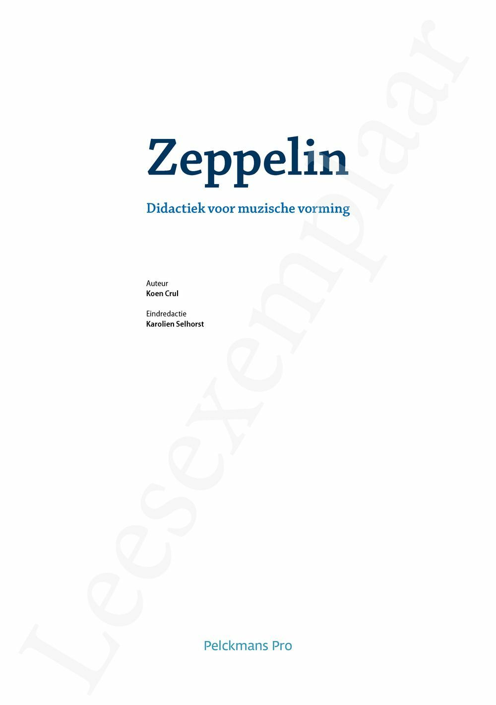 Preview: Zeppelin