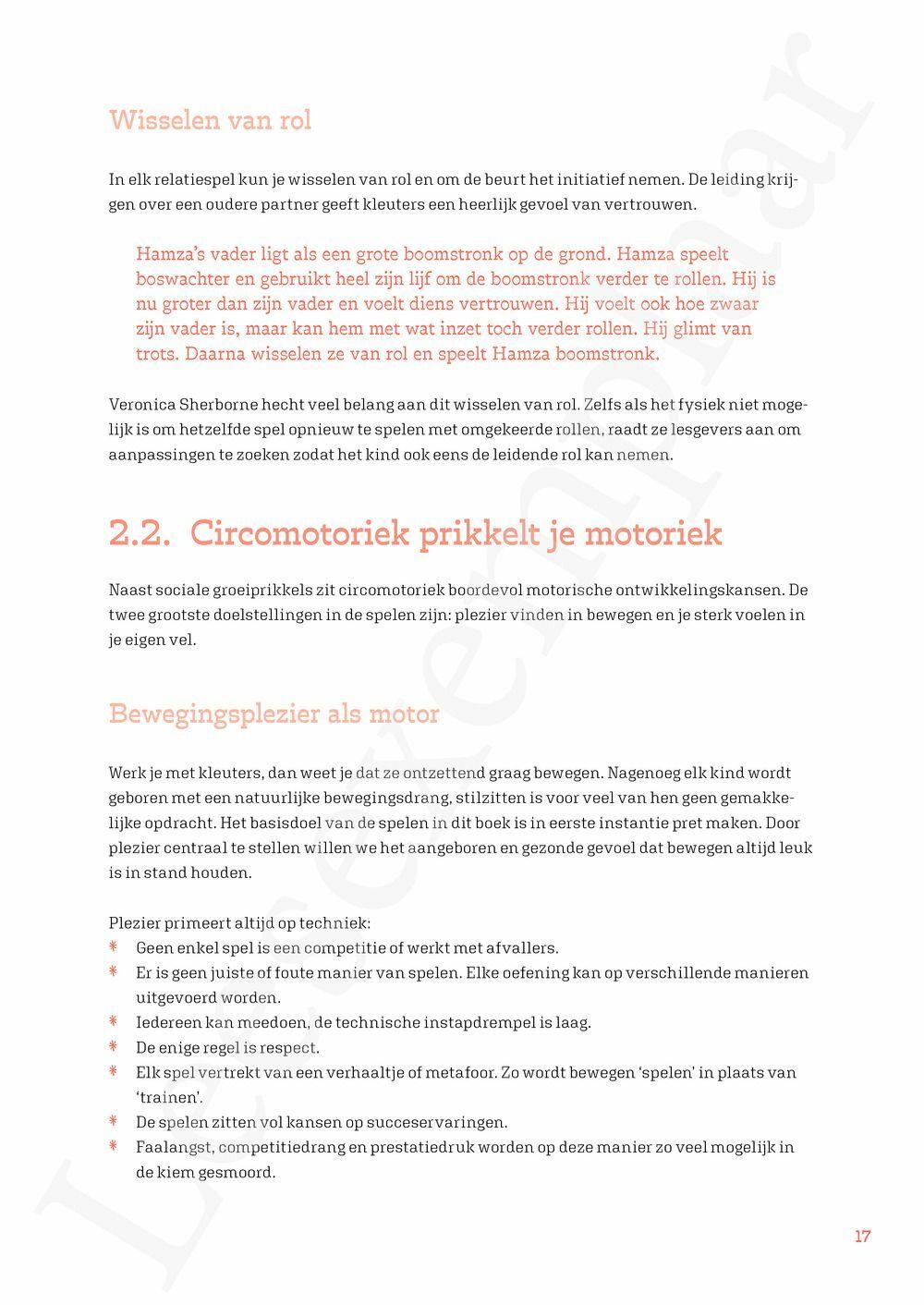 Preview: Circomotoriek met kleuters