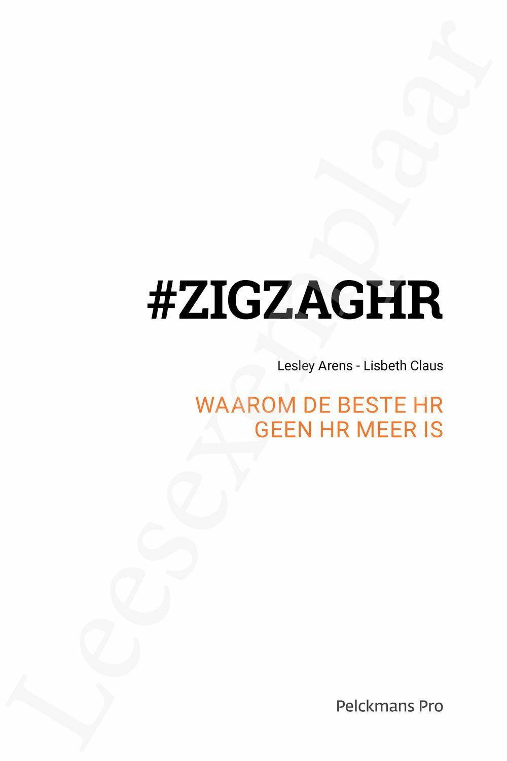 Preview: #ZIGZAGHR