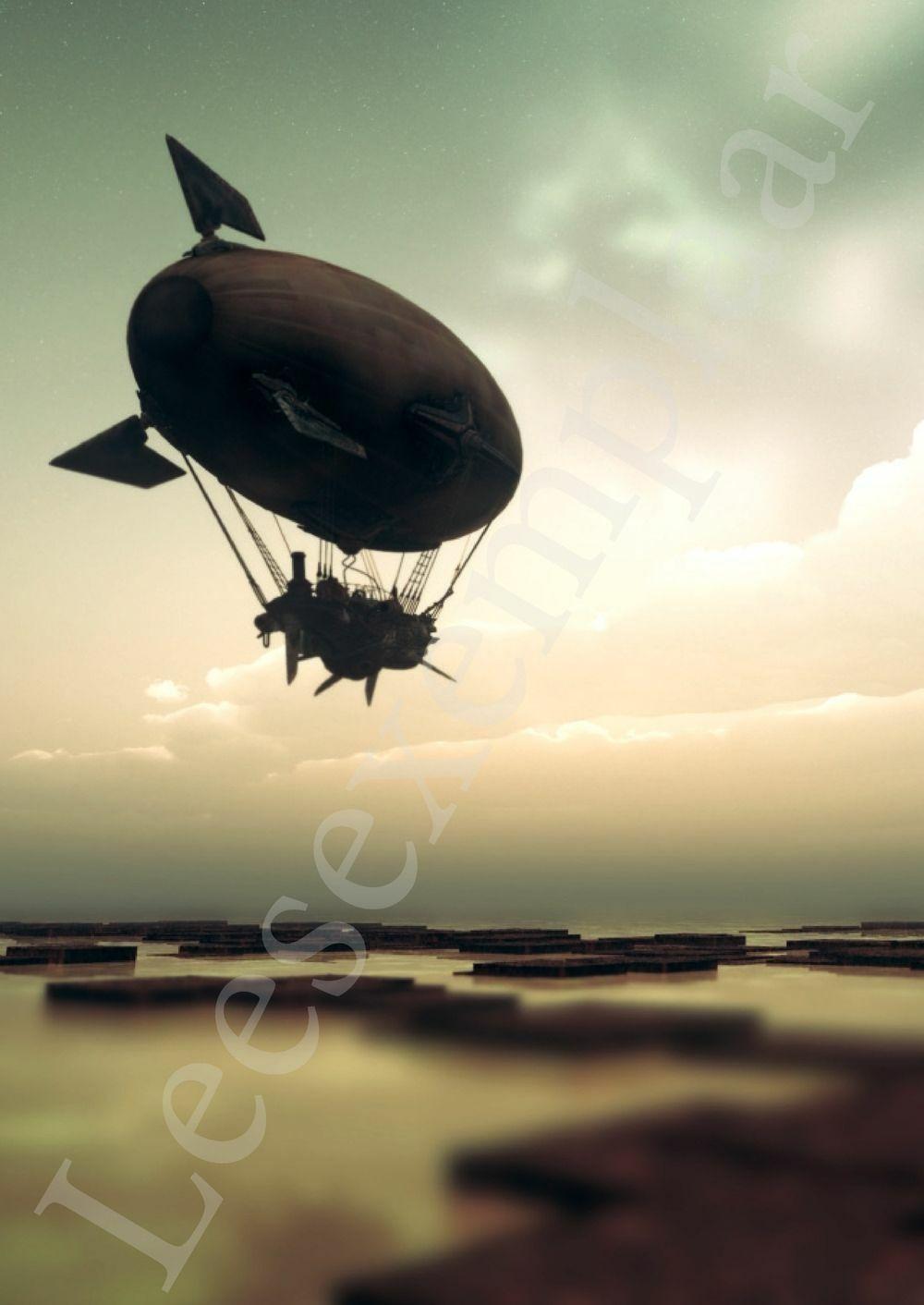 Preview: De kleine zeppelin