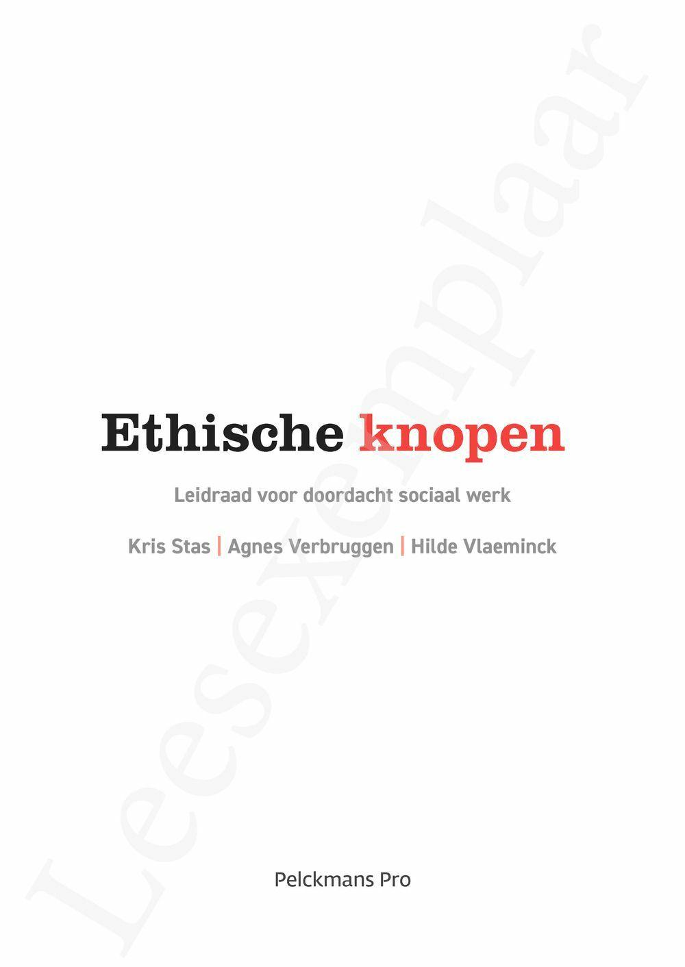 Preview: Ethische knopen