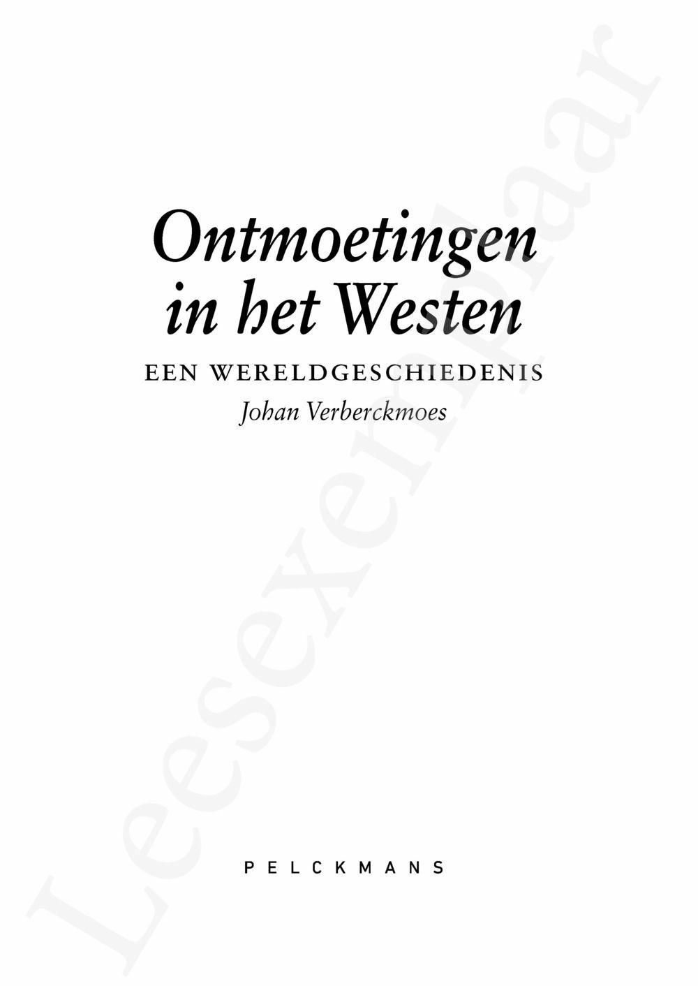 Preview: Ontmoetingen in het Westen