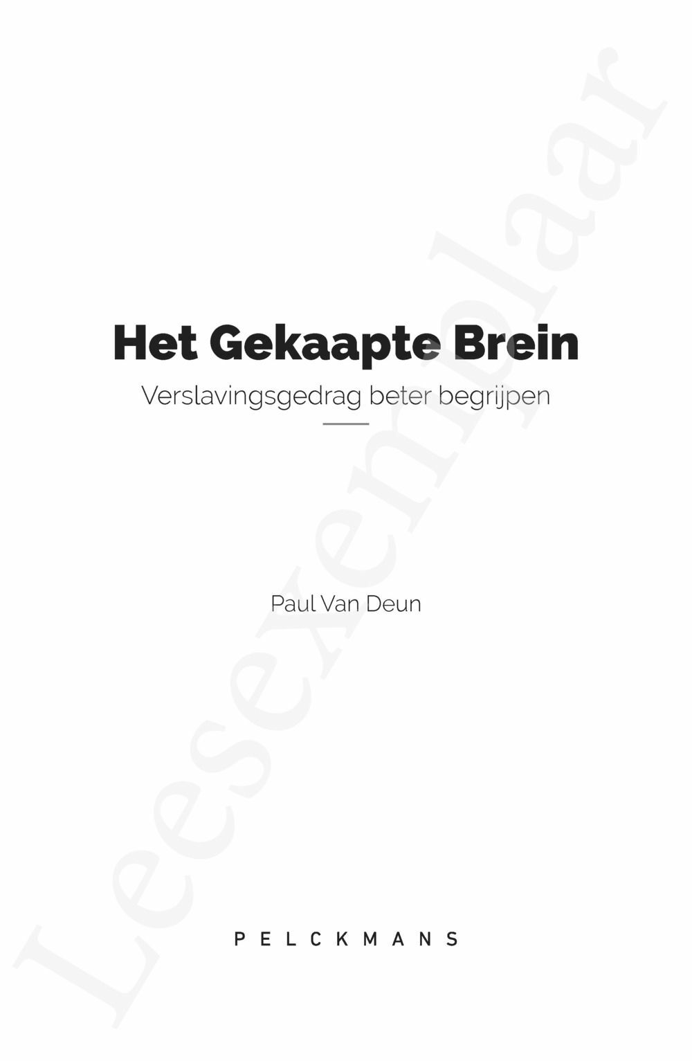 Preview: Het gekaapte brein