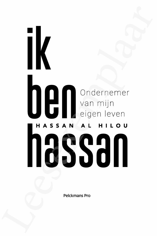Preview: Ik ben Hassan