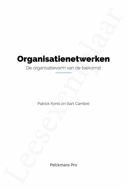 Preview: Organisatienetwerken
