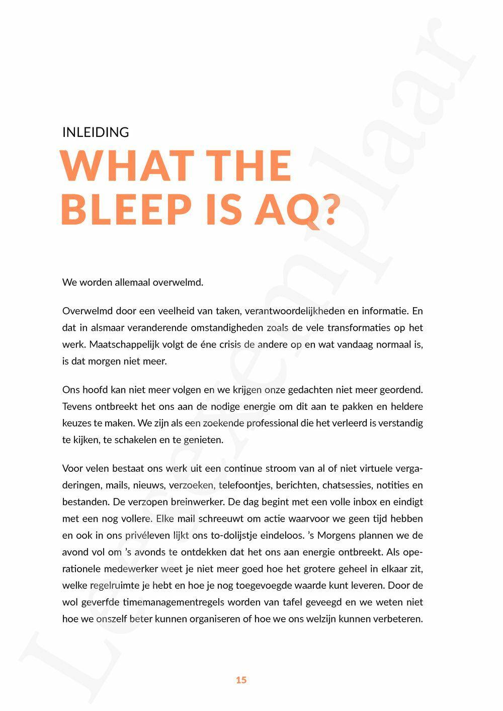 Preview: AQ: Adaptieve intelligentie