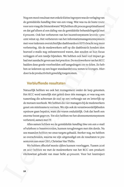 Preview: Op weg naar een leancultuur