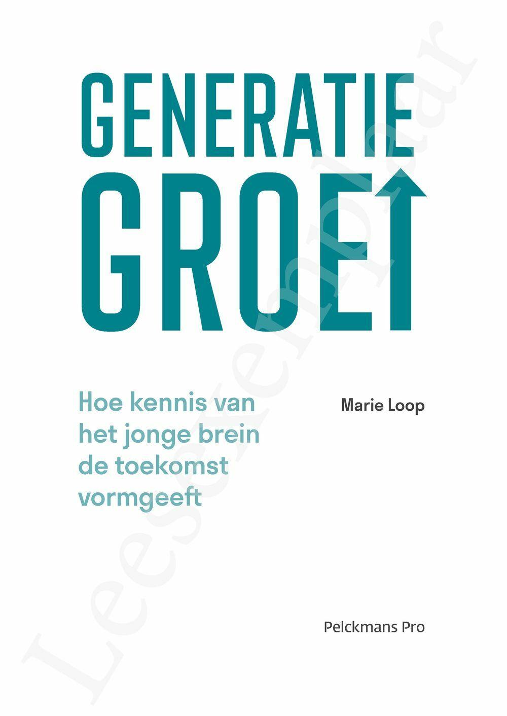 Preview: Generatie groei