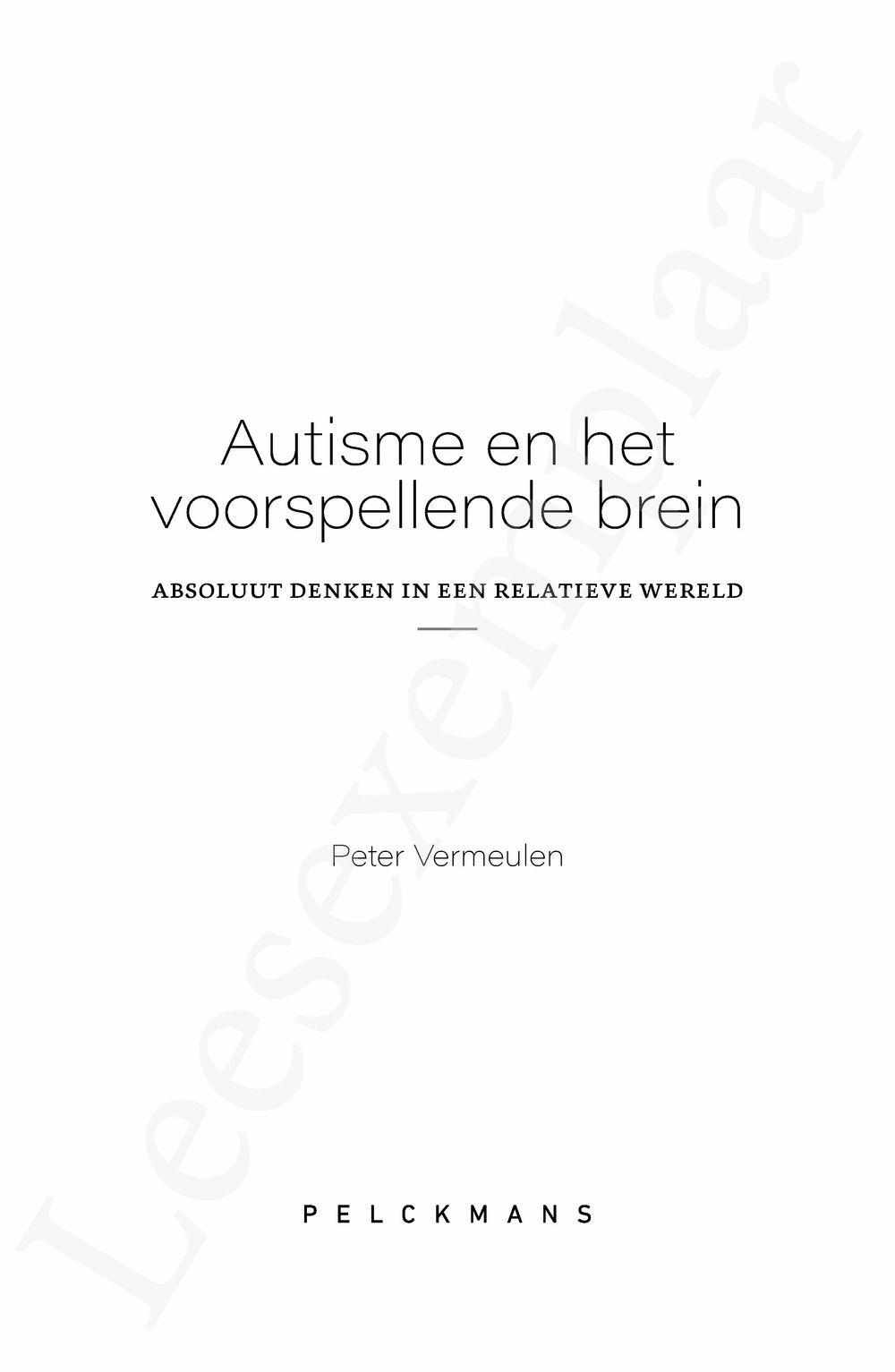 Preview: Autisme en het voorspellende brein