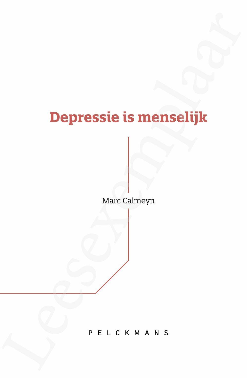 Preview: Depressie is menselijk