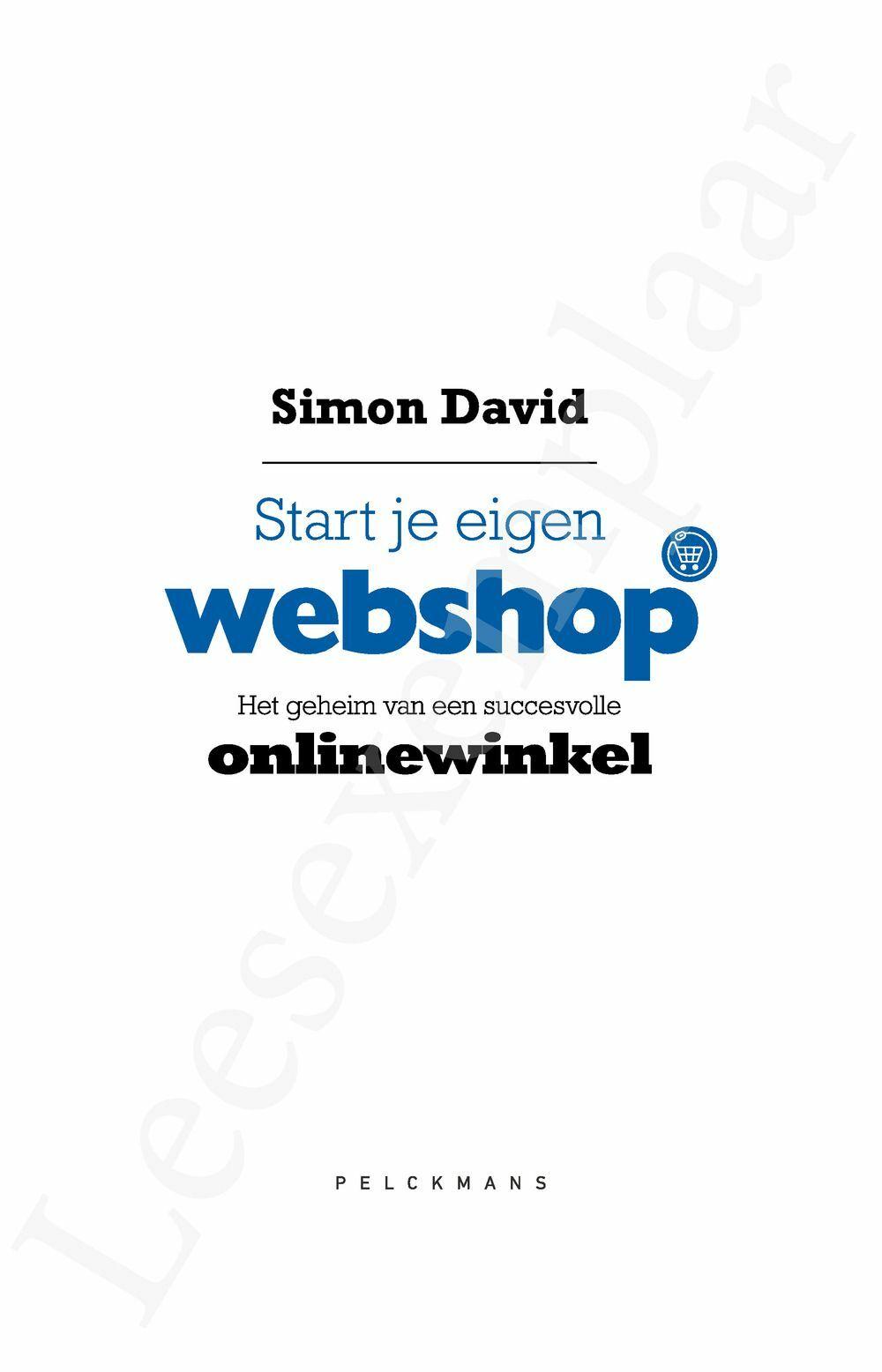 Preview: Start je eigen webshop
