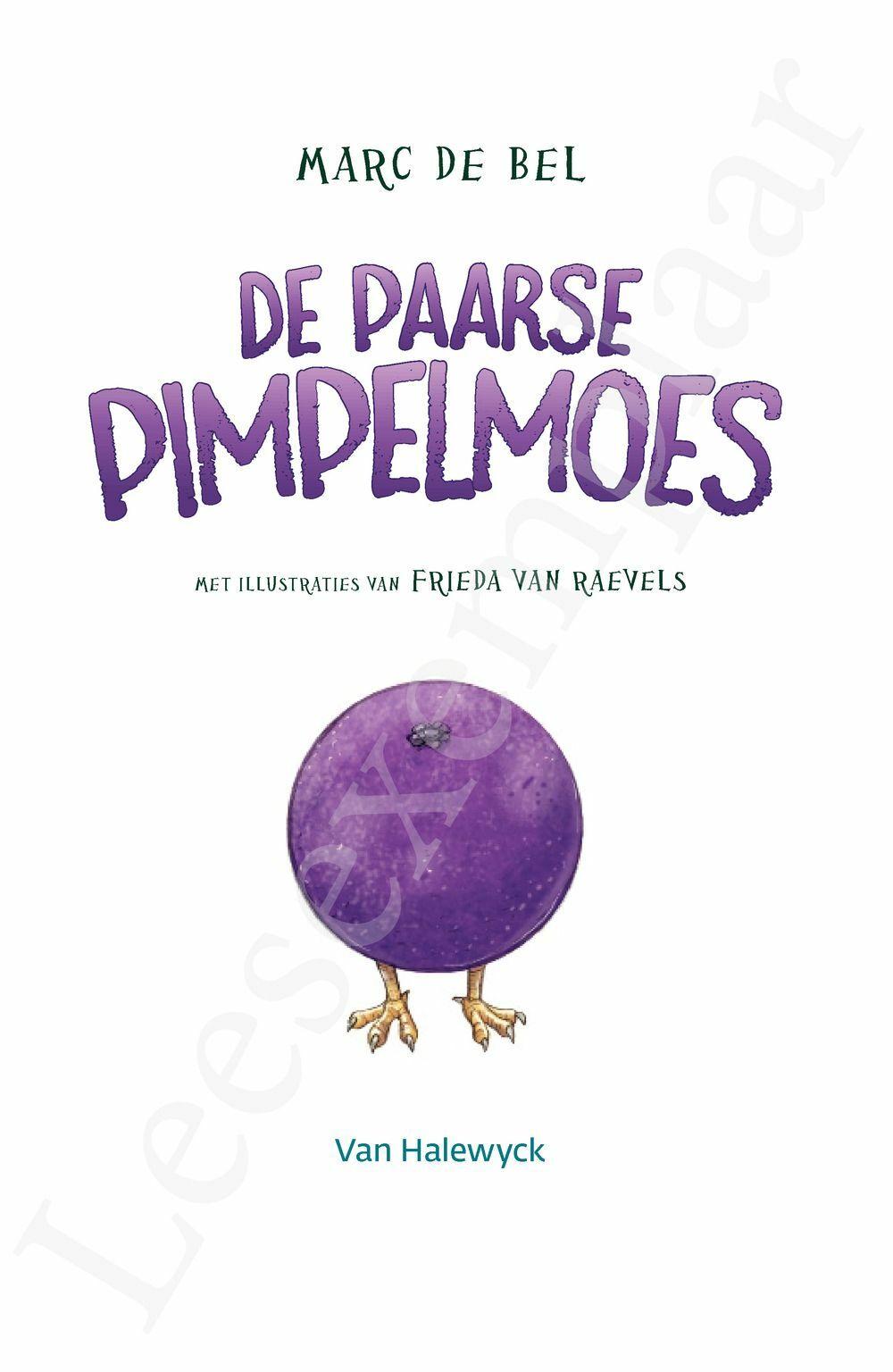 Preview: De paarse pimpelmoes