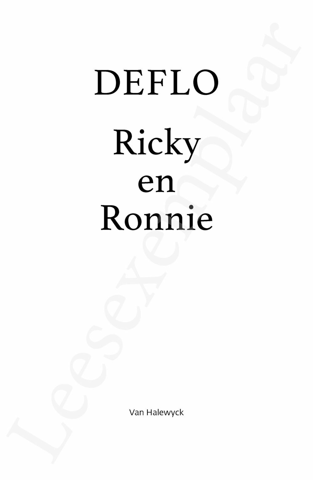 Preview: Ricky en Ronnie