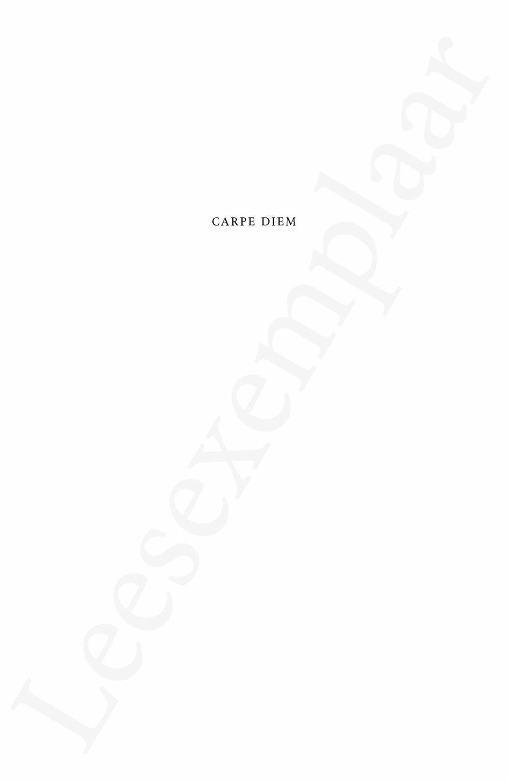 Preview: Carpe Diem