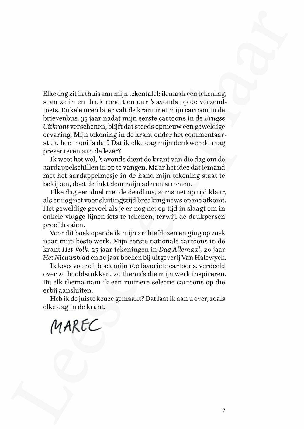 Preview: De keuze van Marec