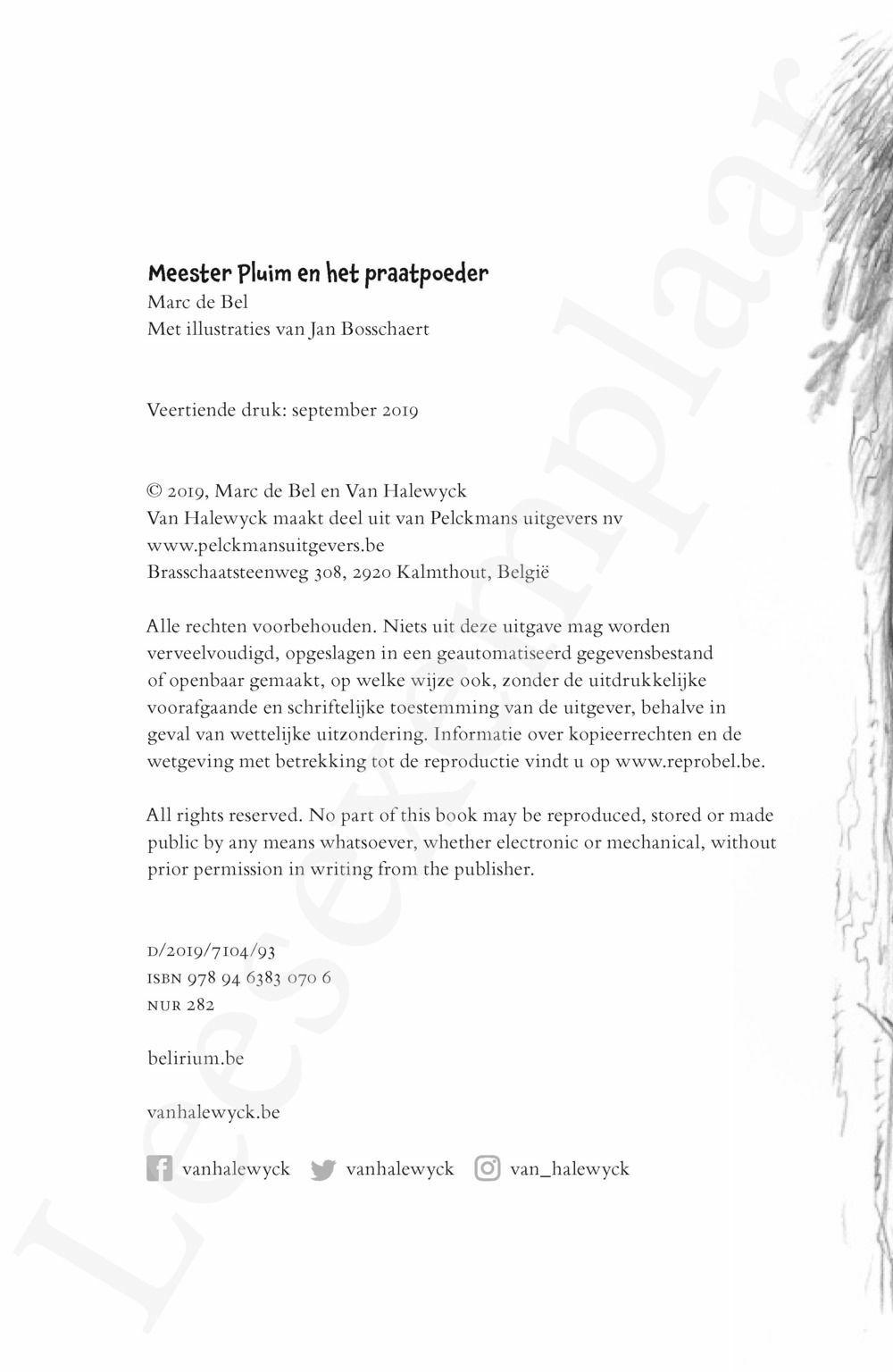 Preview: Meester Pluim en het praatpoeder