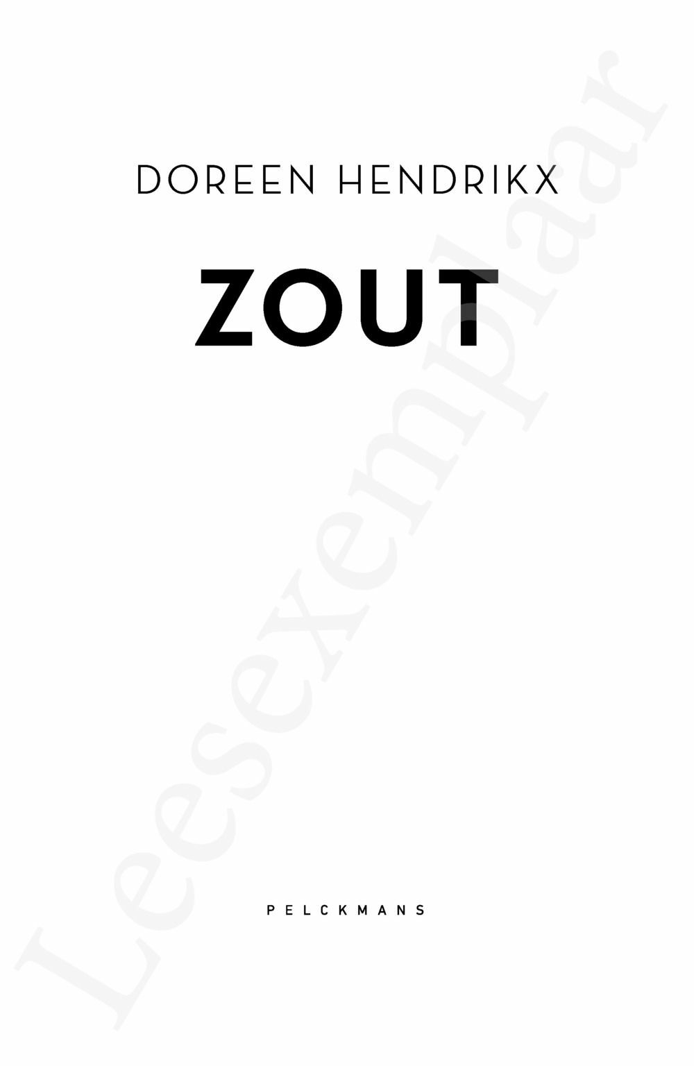 Preview: Zout