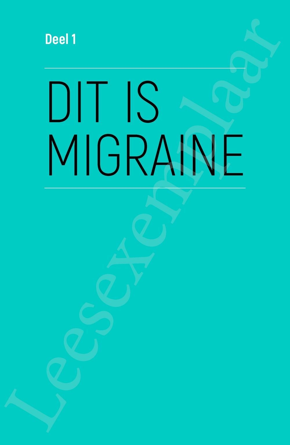 Preview: Migraine