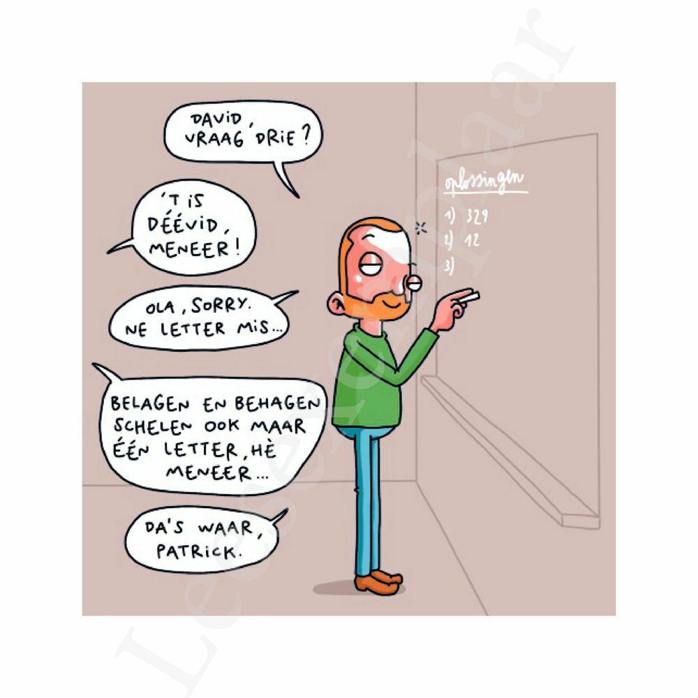 Preview: Je hoort wat in een klaslokaal