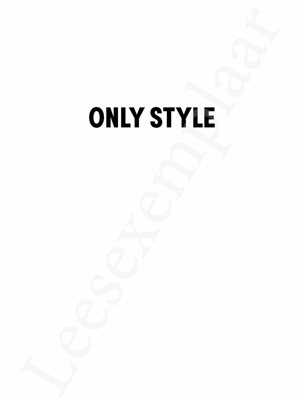 Preview: Only style