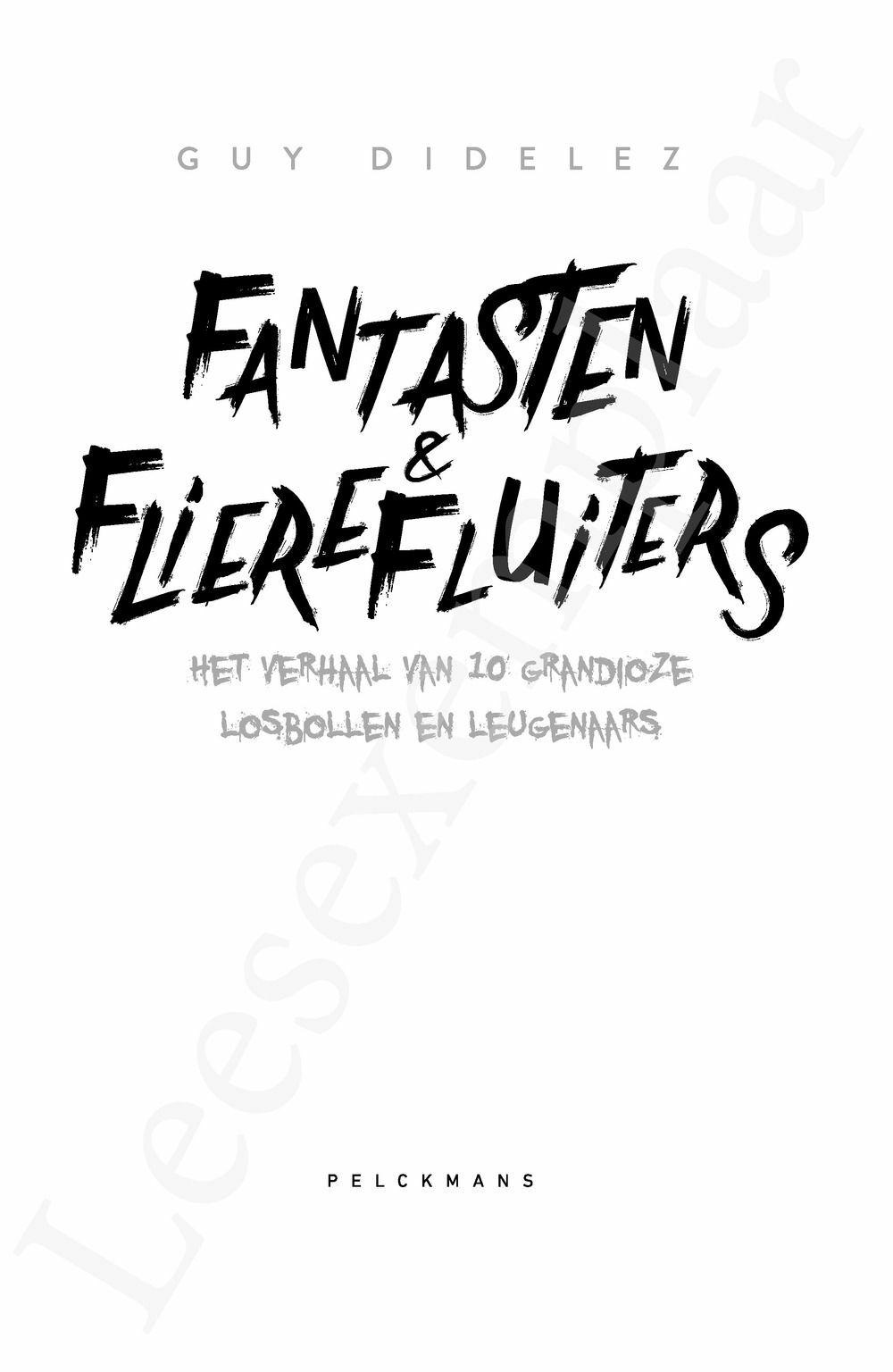Preview: Fantasten & flierefluiters