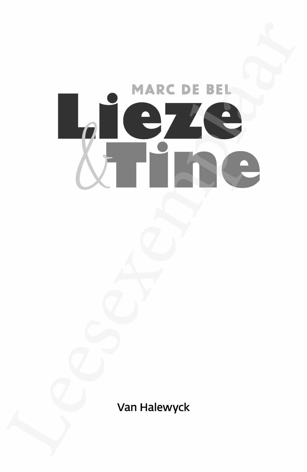 Preview: Lieze & Tine