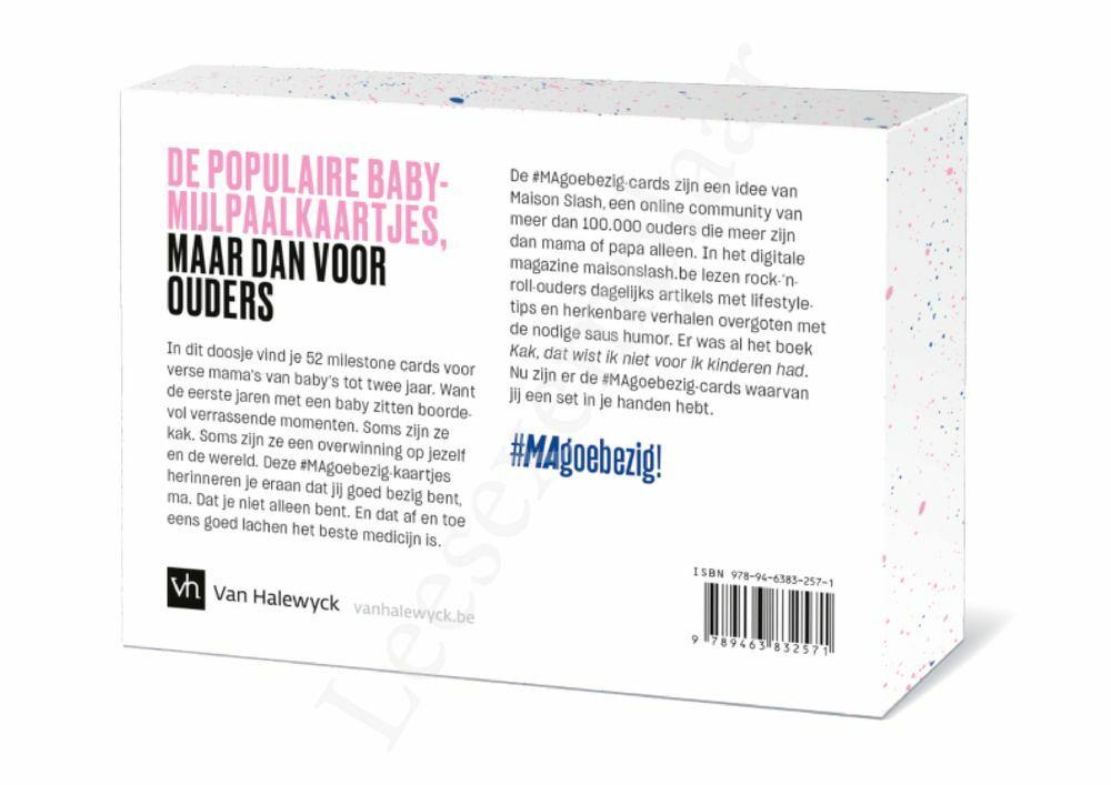 Preview: Magoebezig! Parenting milestone cards