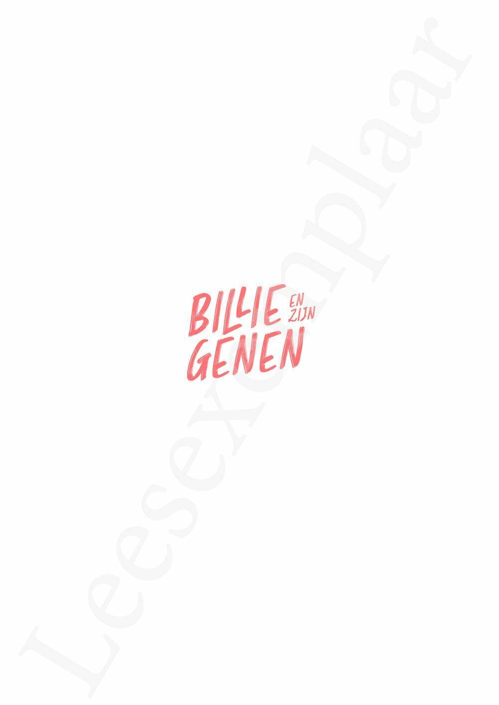 Preview: Billie en zijn genen