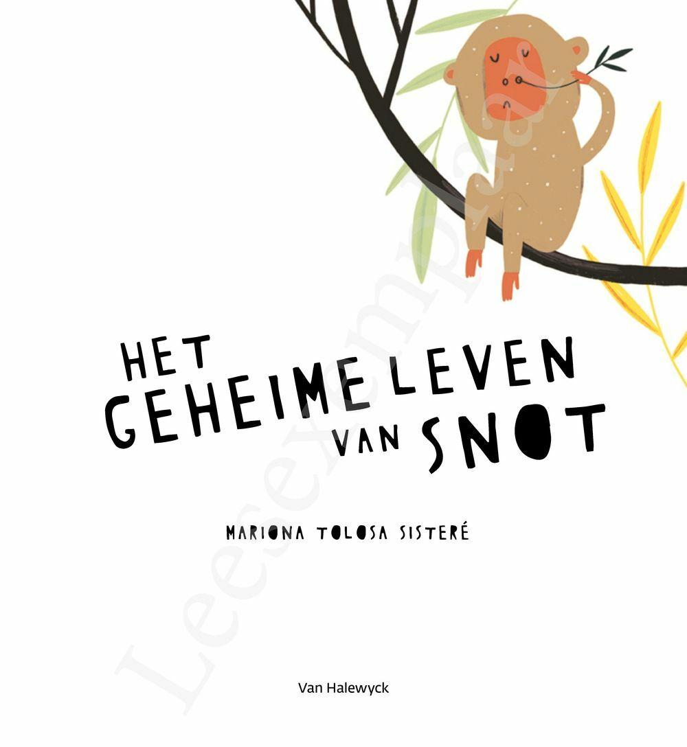 Preview: Het geheime leven van snot