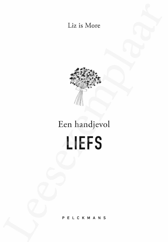 Preview: Een handjevol LIEFS