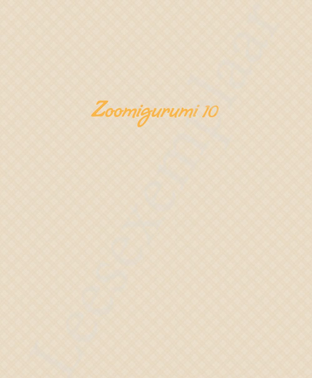 Preview: Zoomigurumi 10