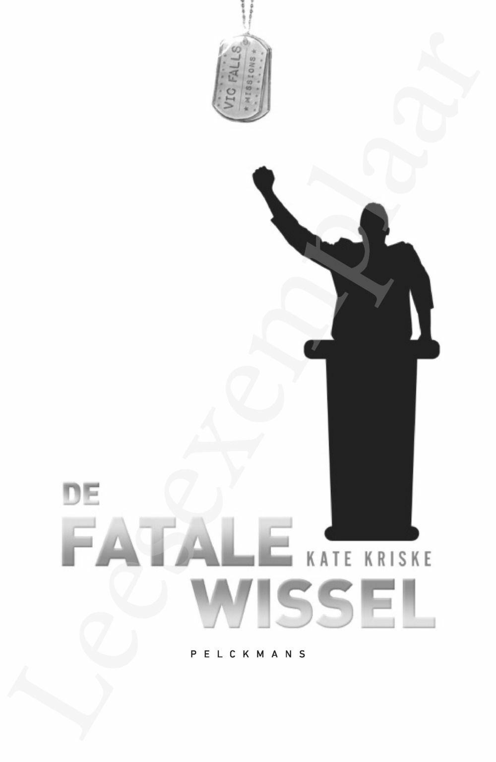 Preview: Vic Falls Missions: De Fatale Wissel