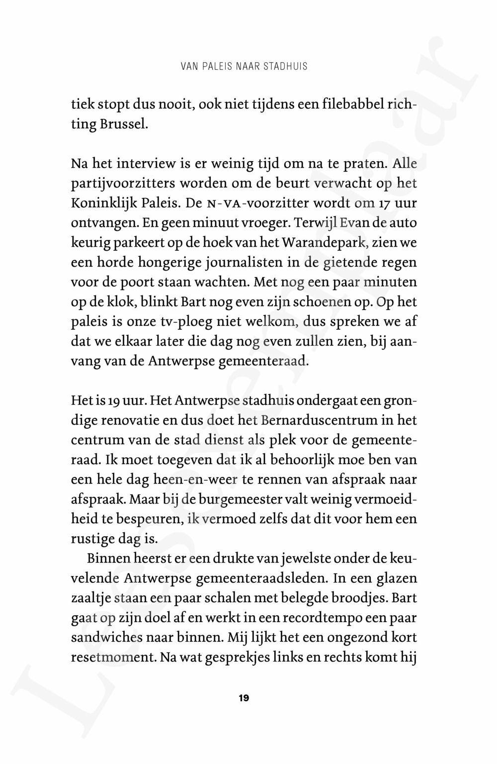 Preview: In het hoofd van De Wever