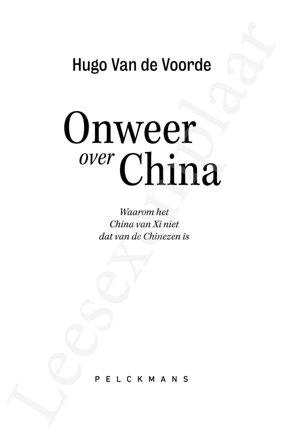 Preview: Onweer over China