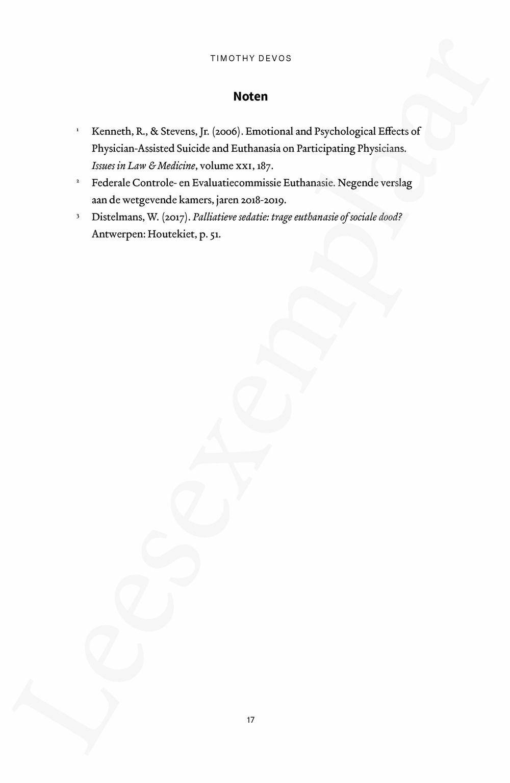 Preview: Euthanasie: een ander verhaal