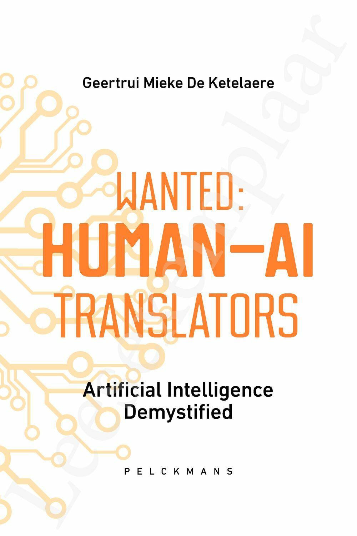 Preview: Wanted: Human-AI Translators
