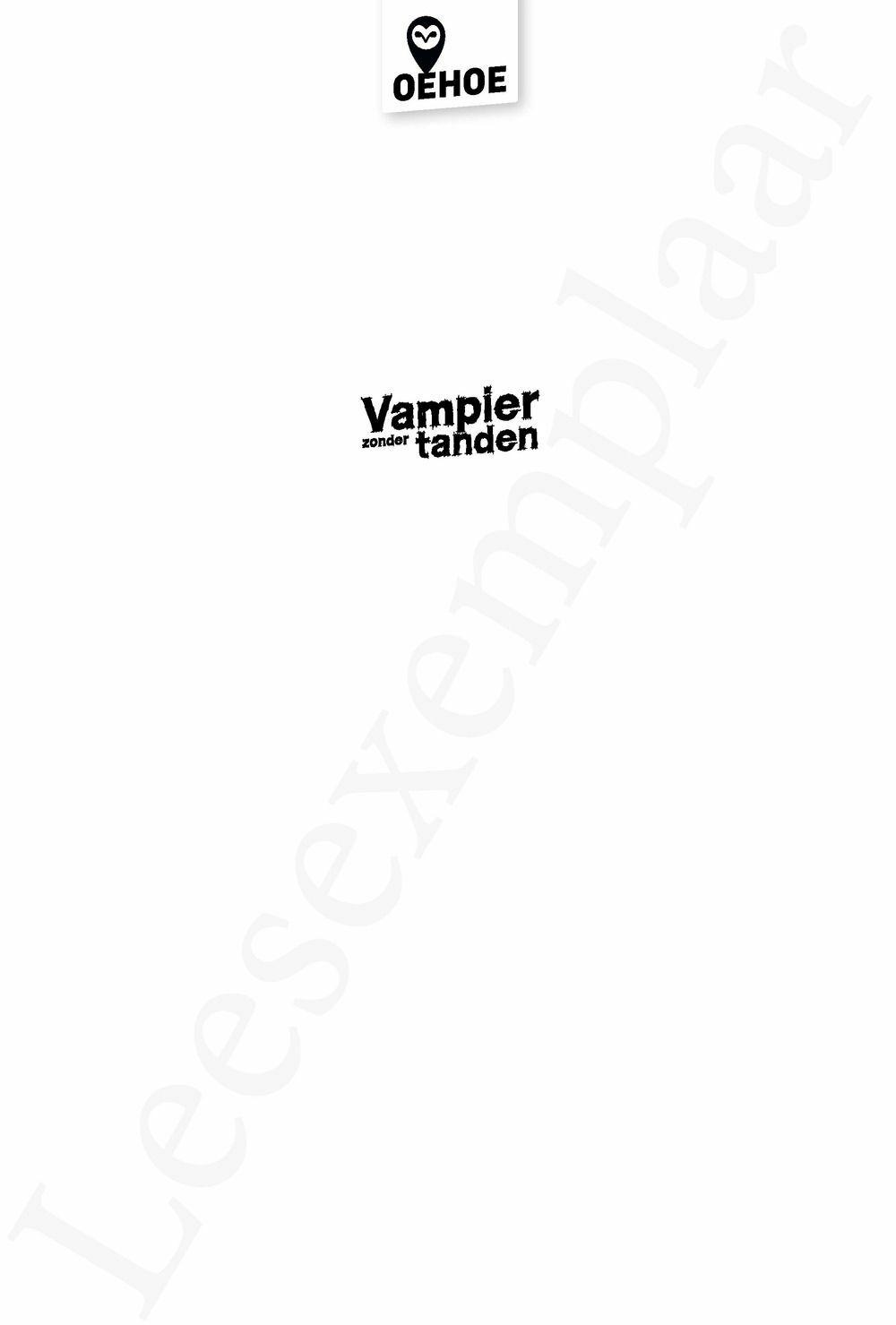 Preview: Vampier zonder tanden