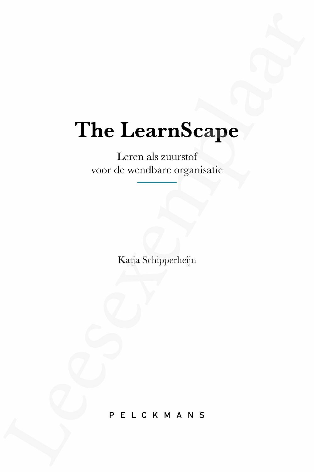 Preview: The LearnScape
