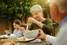 Gezonde voeding houdt je lichaam in balans