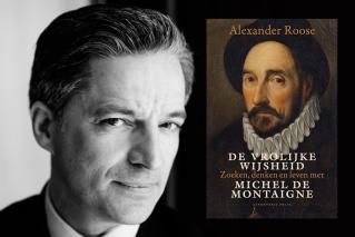 Alexander Roose wint Prijs van het Spirituele Boek 2017 met 'De vrolijke wijsheid'