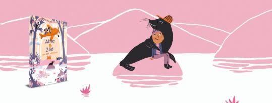 Alfie & Zed: het eerste kinderboek met podcast