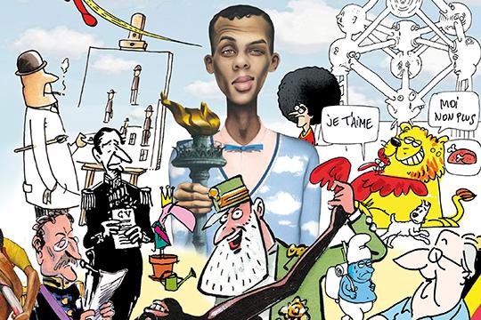 'Belgium Et Cetera': een geschiedenis van België in perscartoons