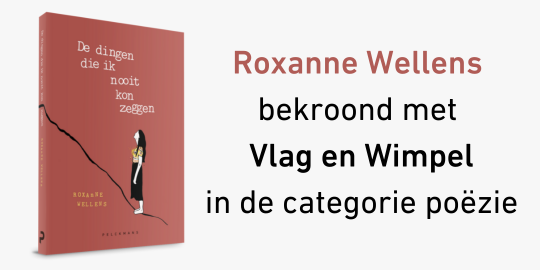 Roxanne Wellens bekroond met Vlag en Wimpel