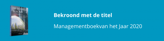 Jo Caudron wint het Nederlandse Managementboek van het Jaar 2020