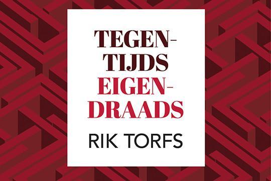 Rector Rik Torfs gaat het nieuwe academiejaar in met een nieuw boek